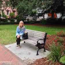 Savannah Georgia Forrest Gump Bench Strollin U0027 Through Savannah