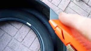Do Car Tires Have Tubes How To Cut Up Old Tires For Disposal Or Projects Youtube