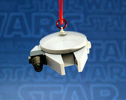 millennium falcon wars ornament made from genuine