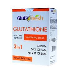 Gluta Fresh harga dan spesifikasi gluta fresh whitening 3in1 serum day