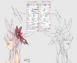 the blind elf paint tool sai brushes by ginirodesu on deviantart