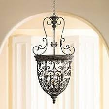 Two Golden Rings Bead Chandelier Entry Chandeliers Upscale Entryway Chandelier Designs Lamps Plus
