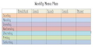 organized home printable menu planner 9 meal plan spreadsheet monthly bills template meal plan monday