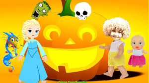 halloween night song trick or treat cartoon children animation