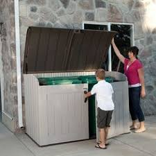 Backyard Garbage Cans by Outdoor Storage Sheds Storage Google And Backyard