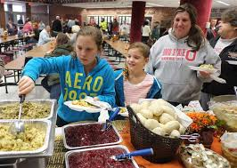 willard chemical spill evacuees a meal of thanksgiving the