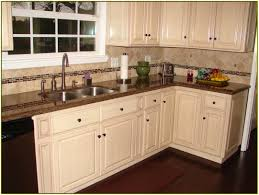 granite countertop cream kitchen cabinet doors sonoma tile