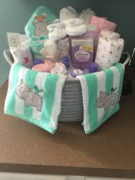 baby shower gifts baby shower present i made galvanized with baby bath items