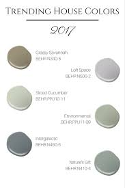trending house colors for 2017 2017 trends pinterest house