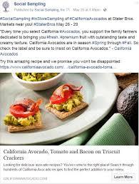 stater bros and walmart in store demos highlight california avocado