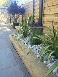 garden ideas photos garden ideas for decorating your fence diy raising wood edgingds