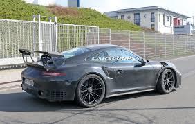 Porsche Gt3 Rs Msrp 2017 Porsche 911 Gt3 Rs Gets Bigger 4 2l Flat Six May Get A