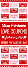 free printable love coupons for couples on valentine u0027s day catch