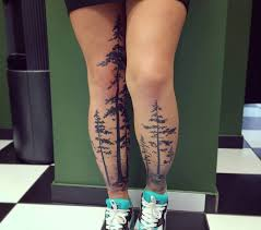 4 beautiful tree tattoos