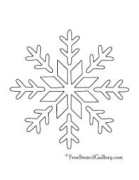 coloring pages printable snowflake stencils printable snowflake