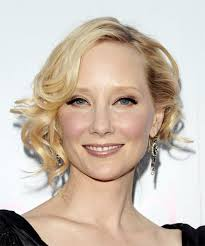 anne heche short wavy formal hairstyle