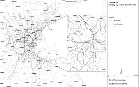 Boston Mbta Bus Map by Core Efficiencies Study Of The Massachusetts Bay Transportation