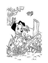 101 dalmatian coloring animal pages kidscoloringpage org