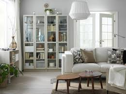 choice living room gallery living room ikea a small livingroom furnished with a light beige two seat sofa and two beige glass