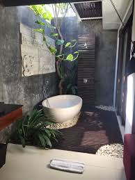 the most elegant in addition to attractive outdoor bathroom