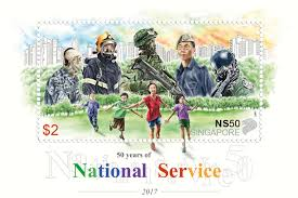bureau des objets trouv駸 green commemorating 50 years of national service