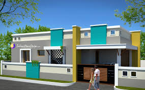 contemporary low cost 800 sqft 2 bhk tamil nadu style home design