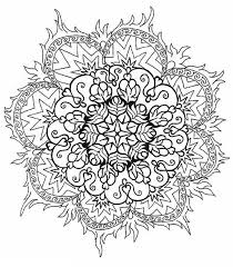 Mandala Flowers Coloring Pages Mandala Flowers Coloring Pages