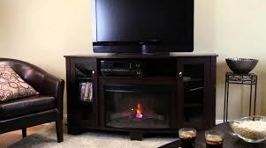 hampton bay u0027grand haven u0027 electric fireplace youtube