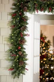Diy Faux Pine Pre Lit Christmas Outdoor Garland Improvements
