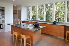 kitchen island wall best rd kitchen island and window wall contemporary kitchen