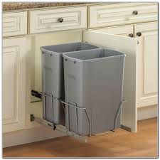 kitchen trash can under cabinet kitchen set home decorating