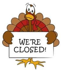 thanksgiving monday closed no regular classes maritime