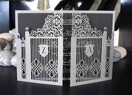 bespoke laser cut wedding invitations uk intricate creations