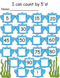 Count By 5 Worksheets Printable Free Count By 5 Worksheets To Print Activity Shelter