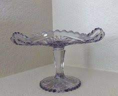 Crystal Pedestal Cake Stand Candlewick Crystal Pedestal Cake Stand By Imperial Glass 1930 U0027s