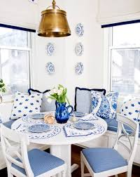 blue dining room set brynwood white 5 pc counter height dining set