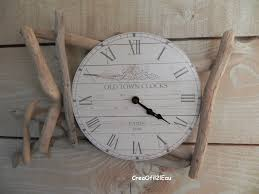 nice horloge murale chiffre romain 4 horloge murale en bois