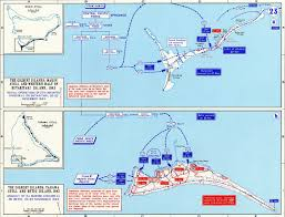 Map Of Pacific Islands Map Of Wwii Gilbert Islands 1943