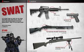 shooting packages machine gun experience