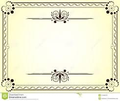 certificate certificate template