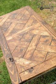 Free Small Wooden Table Plans by Best 25 Diy Wood Table Ideas On Pinterest Diy Table Diy Bench