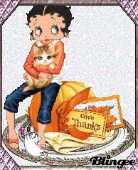 betty boop pictures archive thanksgiving greetings plus 1 000 s