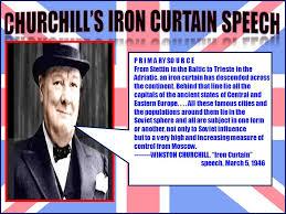 Iron Curtain Speech We Didn U0027t Start The Fire U201d Ppt Download