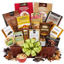 basket gifts snack chocolate gift basket deluxe by gourmetgiftbaskets