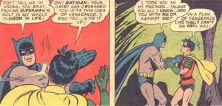 Memes De Batman Y Robin - imagen batman slaps robin jpeg batpedia fandom powered by wikia
