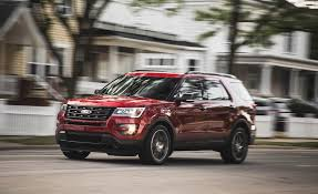 review ford explorer sport 2016 ford explorer sport test review car and driver