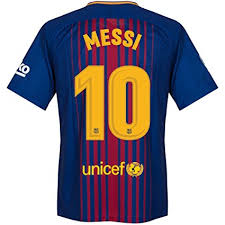 Baju Jersi Nike nike barcelona home messi jersey 2017 2018 official