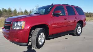 2007 chevrolet tahoe 4x2 2lt 5 passenger sport red metallic 1