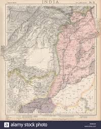 Punjab Map Pakistan U0026 Afghanistan Punjab Beluchistan Sinde British India