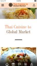 global cuisine cuisine to global market บน app store